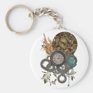 Wellcoda Time Travel Machine Illusion Key Ring