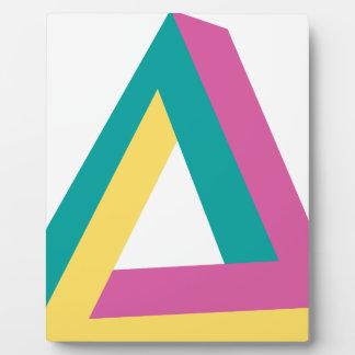 Wellcoda Triangle Drive Shape Summer Fun Plaque