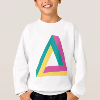 Wellcoda Triangle Drive Shape Summer Fun Sweatshirt