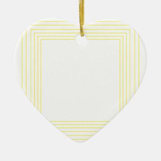 Wellcoda Triangle Square Shape Futuristic Ceramic Heart Decoration