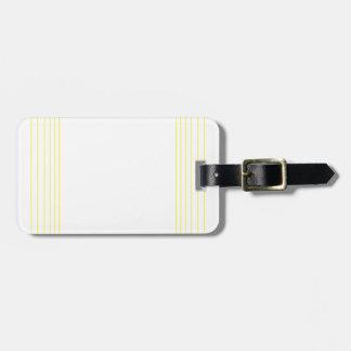 Wellcoda Triangle Square Shape Futuristic Luggage Tag
