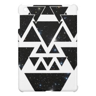 Wellcoda Triangle Star Night Sky Line Love iPad Mini Covers