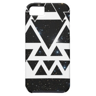 Wellcoda Triangle Star Night Sky Line Love Tough iPhone 5 Case