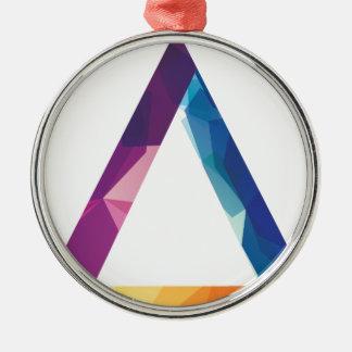 Wellcoda Triangle Summer Vibe Crazy Shape Christmas Ornament