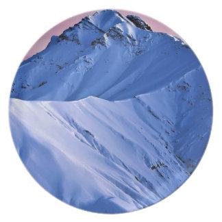 Wellcoda Triangle Summer Vibe Crazy Shape Plate