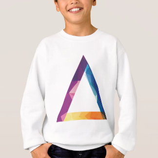 Wellcoda Triangle Summer Vibe Crazy Shape Sweatshirt