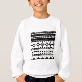 Wellcoda Tribal Style Design Pattern Asia Sweatshirt