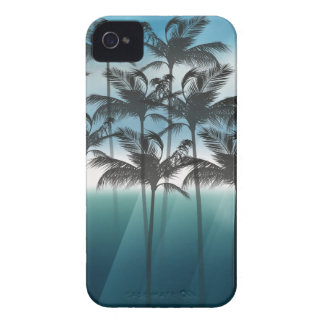 Wellcoda Tropical Palm Tree Paradise Life Case-Mate iPhone 4 Case