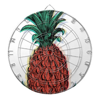Wellcoda Tropical Pineapple Fruit Juice Dartboard