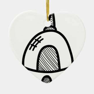 Wellcoda UFO Alien Spaceship Future Flight Christmas Ornament