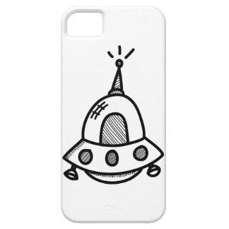 Wellcoda UFO Alien Spaceship Future Flight iPhone 5 Cover