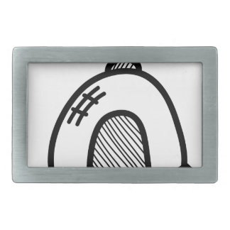 Wellcoda UFO Alien Spaceship Future Flight Rectangular Belt Buckle