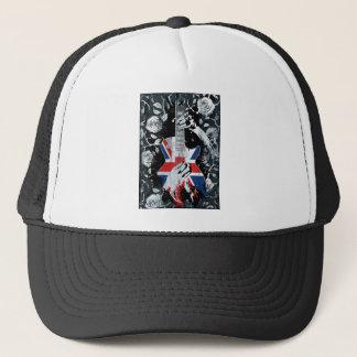 Wellcoda UK Music Guitar Life Trucker Hat