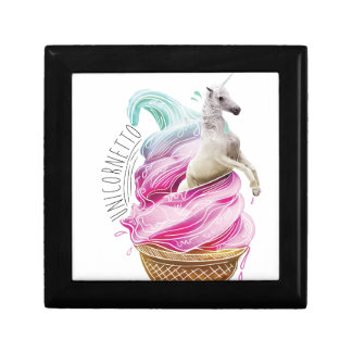 Wellcoda Unicorn Ice Cream Fun Myth Love Gift Box