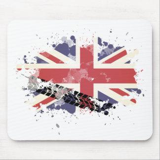 Wellcoda Union Jack UK Flag Britain Life Mouse Mat