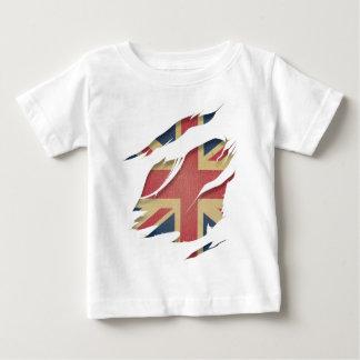 Wellcoda United Kingdom Flag Uk Identity Baby T-Shirt