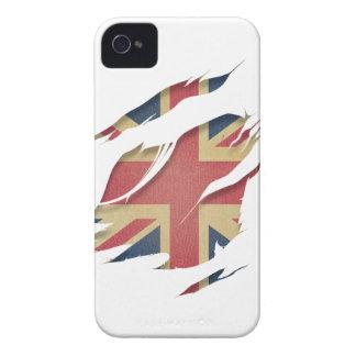 Wellcoda United Kingdom Flag Uk Identity Case-Mate iPhone 4 Case