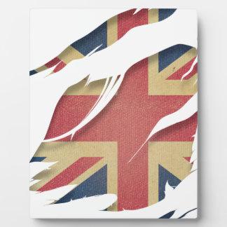 Wellcoda United Kingdom Flag Uk Identity Display Plaque