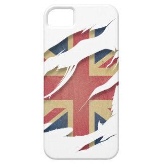 Wellcoda United Kingdom Flag Uk Identity iPhone 5 Cover