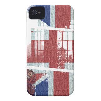 Wellcoda United Kingdom Symbol UK Flag iPhone 4 Case-Mate Case