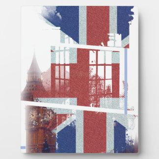 Wellcoda United Kingdom Symbol UK Flag Plaque