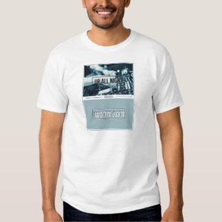 Wellcoda Up All Night DJ Mixer Sleep Day T-shirts