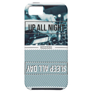 Wellcoda Up All Night Party DJ Sleep Day Case For The iPhone 5