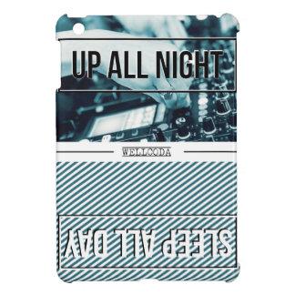 Wellcoda Up All Night Party DJ Sleep Day Cover For The iPad Mini