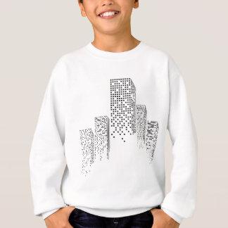 Wellcoda Urban Building Sky Abstract City Sweatshirt