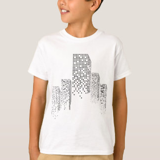 Wellcoda Urban Building Sky Abstract City T-Shirt
