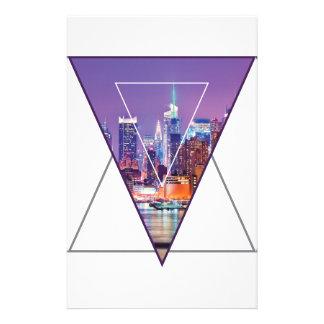Wellcoda Urban City Soul Life Sky Line Love Personalized Stationery