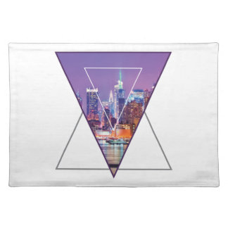 Wellcoda Urban City Soul Life Sky Line Love Placemat