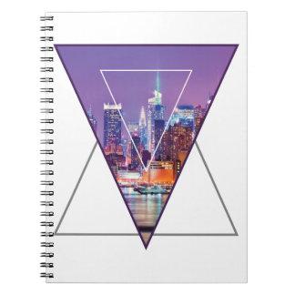 Wellcoda Urban City Soul Life Sky Line Love Spiral Notebooks