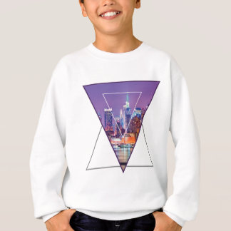 Wellcoda Urban City Soul Life Sky Line Love Sweatshirt