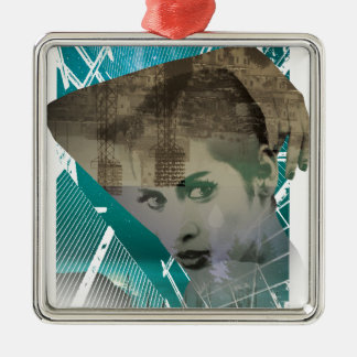 Wellcoda Urban Girl Portrait Surreal View Christmas Ornament
