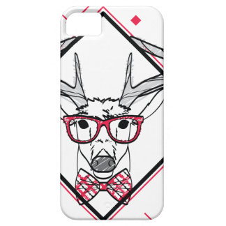 Wellcoda Urban Reindeer Swag Hipster Stag Barely There iPhone 5 Case