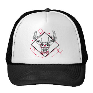 Wellcoda Urban Reindeer Swag Hipster Stag Cap