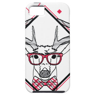 Wellcoda Urban Reindeer Swag Hipster Stag iPhone 5 Cover