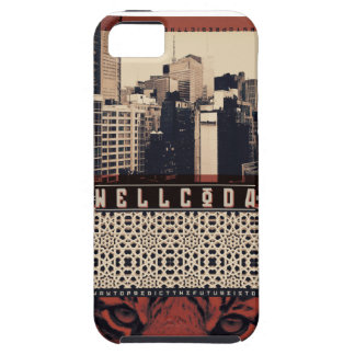 Wellcoda Urban Tiger City Life Wild Cat Case For The iPhone 5
