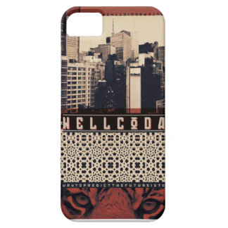 Wellcoda Urban Tiger City Life Wild Cat iPhone 5 Case
