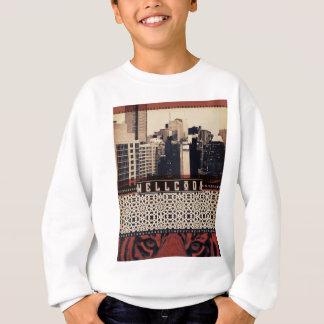 Wellcoda Urban Tiger City Life Wild Cat Sweatshirt