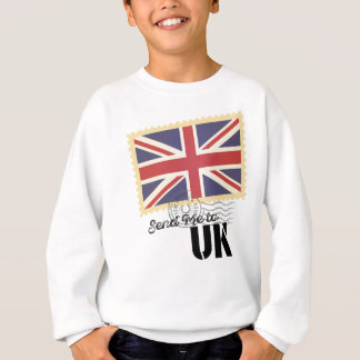 Wellcoda USA America Flag United States Sweatshirt