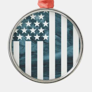 Wellcoda USA Eagle America Freedom Flag Christmas Ornament