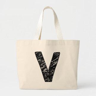 Wellcoda V Epic Brand Print Dream Fun Large Tote Bag