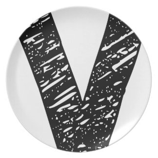 Wellcoda V Epic Brand Print Dream Fun Party Plate
