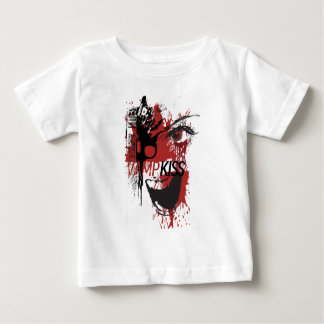 Wellcoda Vampire Kiss Blood Pistol Gun Baby T-Shirt