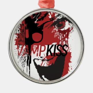 Wellcoda Vampire Kiss Blood Pistol Gun Christmas Ornament