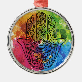Wellcoda Vibrant Indian Symbol Asian Life Christmas Ornament
