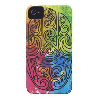 Wellcoda Vibrant Indian Symbol Asian Life iPhone 4 Covers