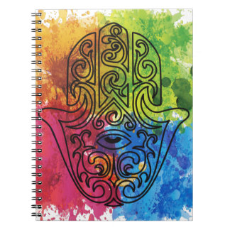 Wellcoda Vibrant Indian Symbol Asian Life Notebook